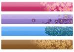 Цветочные закладки