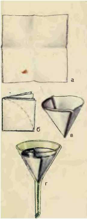 Фильтр из бумаги как сделать